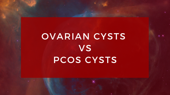 Ovarian cysts vs PCOS cysts